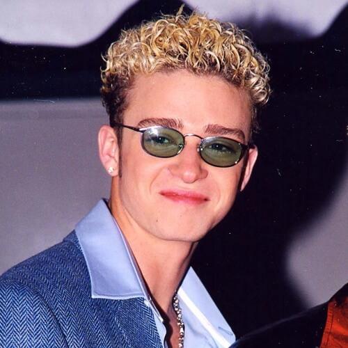 Blanqueado Superior Justin Timberlake Peinados