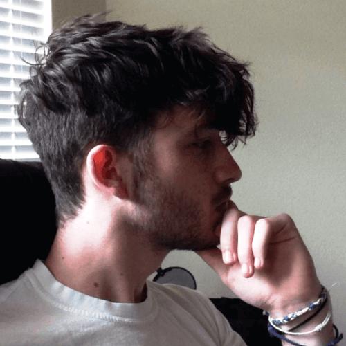 Entrecortado Peinados Modernos para Hombres