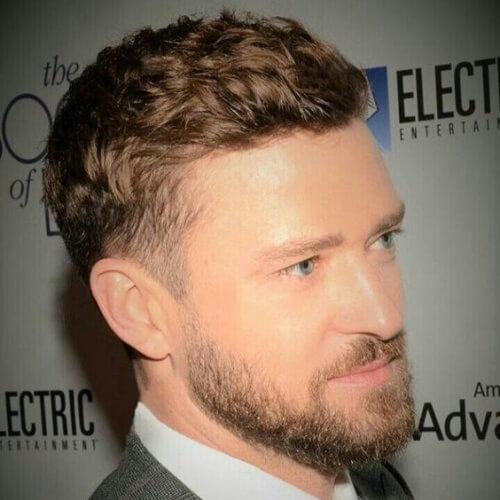 Entrecortado Justin Timberlake Peinados