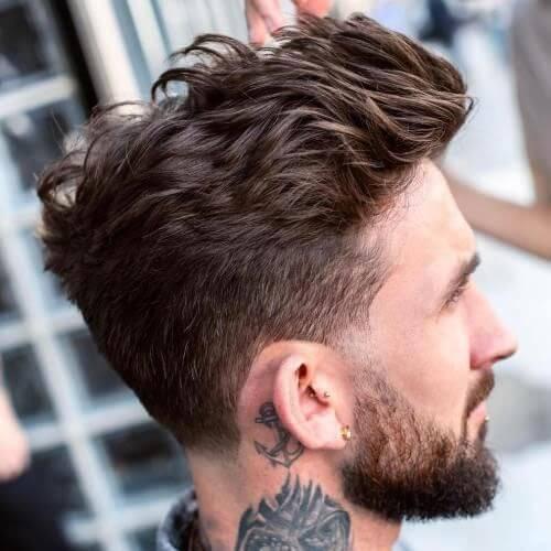 Flequillo Peinado