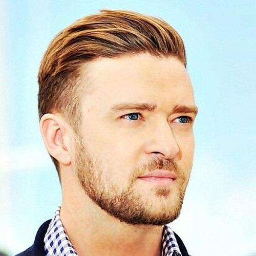 Justin Timberlake Peinados con Sutiles Destacan
