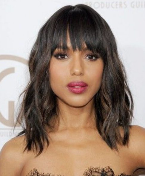 Kerry Washington long bob cortes de pelo