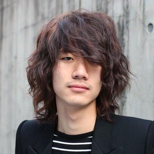 La altura de los hombros Adolescente Peinados