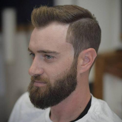 El Pico de las viudas Peinados con Barba