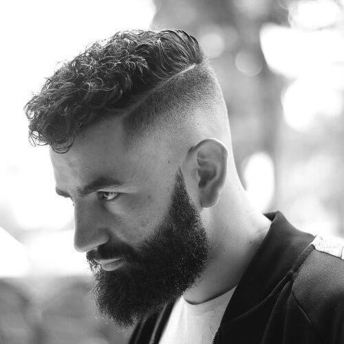 Capas de Cortes de pelo para Hombres con la Parte Difícil