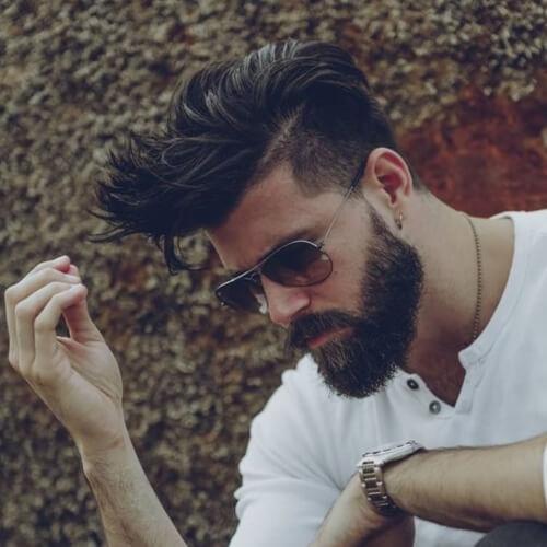 Los hombres de Capas de Socavar Peinados