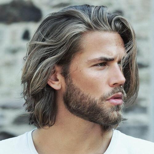 Nuca-corte de pelo de longitud