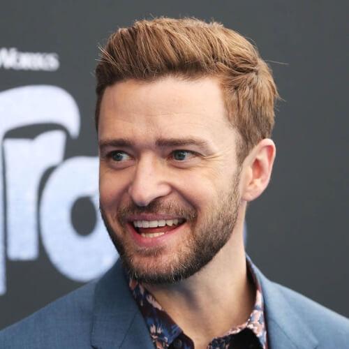 Profundo De Cobre Justin Timberlake Peinados