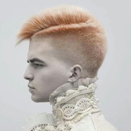 Punk Peinados para hombres con Cabello Grueso