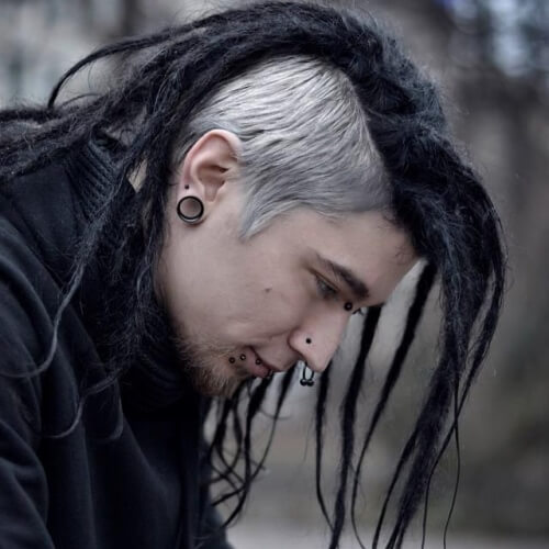 Punk Peinados para Chicos con Rastas