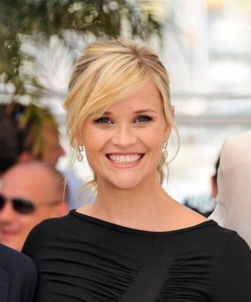 Reese Witherspoon lado flequillo