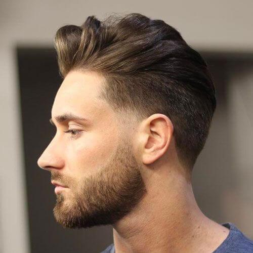Ronda De La Silueta De Peinados