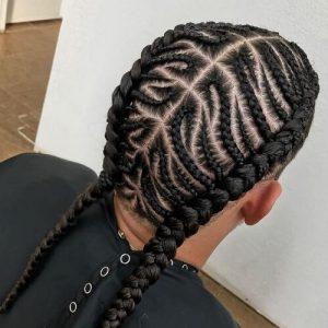 50 Trenzas Para Hombres De Ideas Largo Peinados
