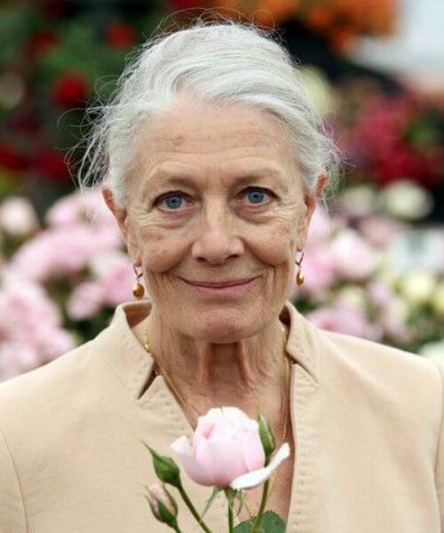 Vanessa Redgrave peinados para mujeres mayores de 60 años