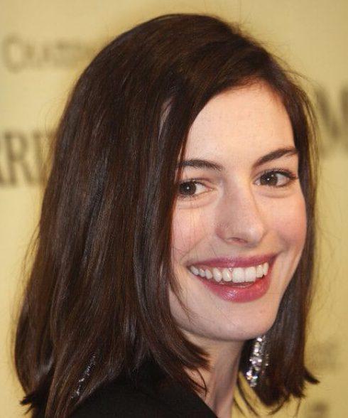Anne Hathaway Lob: 50 De Largo Bob Cortes De Pelo Adoramos » Largo Peinados