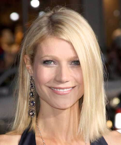 gwyneth paltrow long bob cortes de pelo