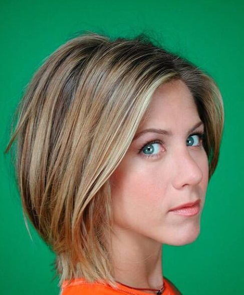 jennifer aniston bob asimétrico