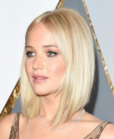 jennifer lawrence long bob cortes de pelo