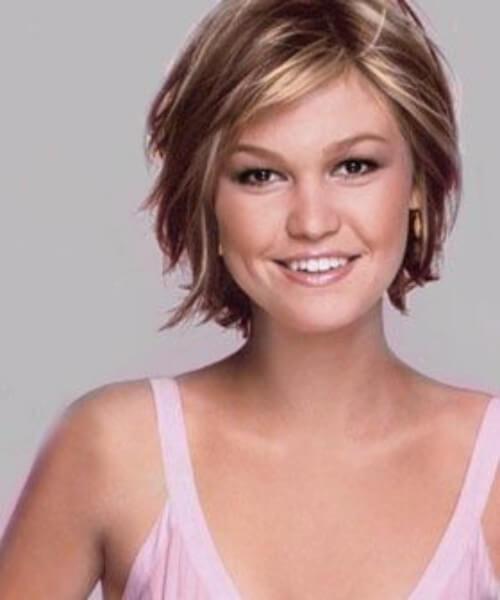 julia stiles cortes de pelo corto para el cabello grueso