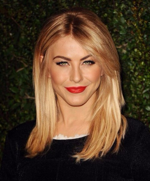 julianne hough lado flequillo