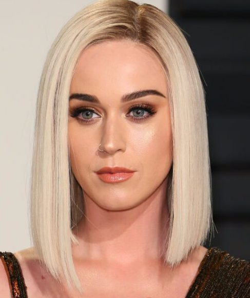 katy perry long bob cortes de pelo