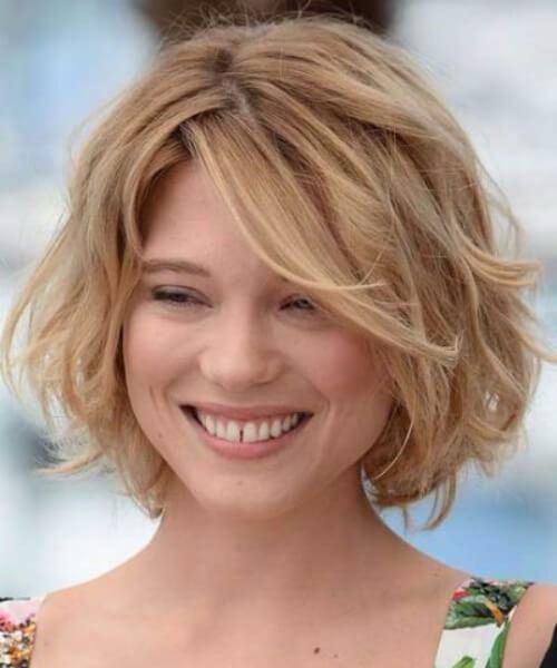 lea seydoux, así los cortes de pelo corto para el cabello grueso