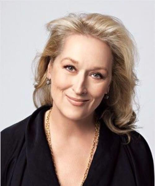 meryl streep peinados para mujeres mayores de 60 años