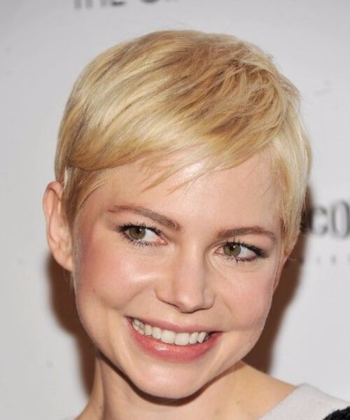 michelle williams lado flequillo