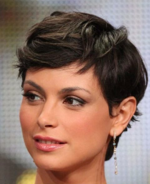 morena boccarin cortes de pelo corto para el cabello grueso