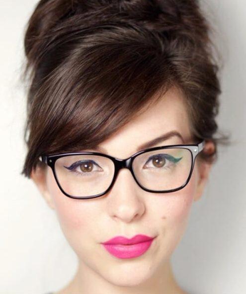 lado flequillo gafas