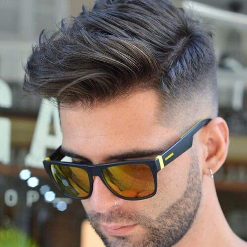 50 casual de negocios peinados para hombres largo peinados for Peinado fade