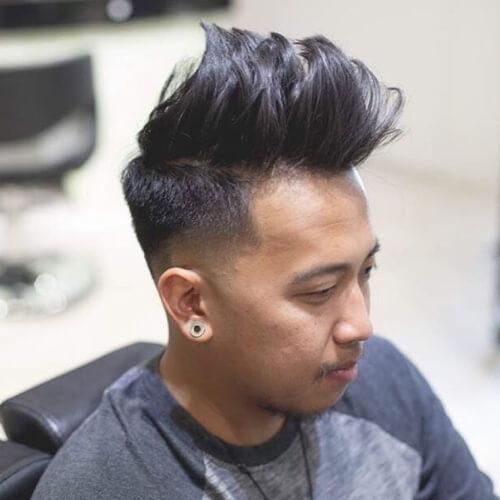 Puntiagudos largos Peinados para Chicos