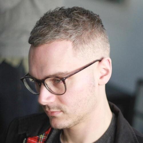 César Cortar Rubia Peinados para Hombres