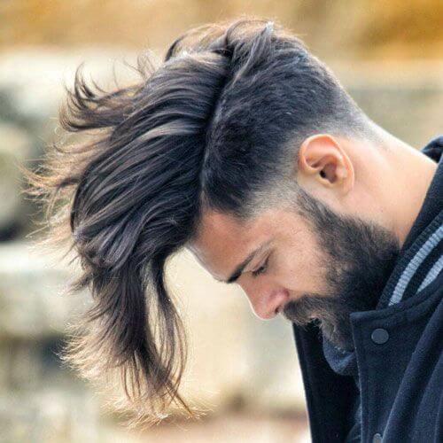 pelo largo blanco coño afeitado