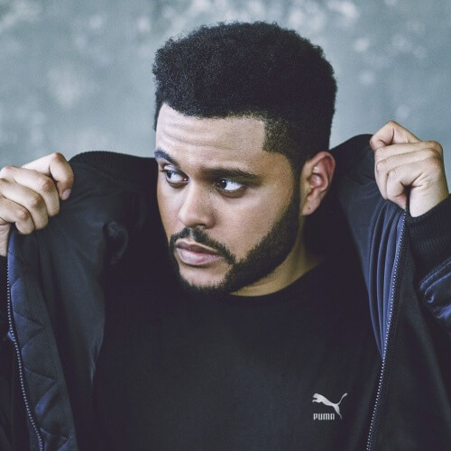 The-Weeknd-New-Hair-Style-with-Box-Fade