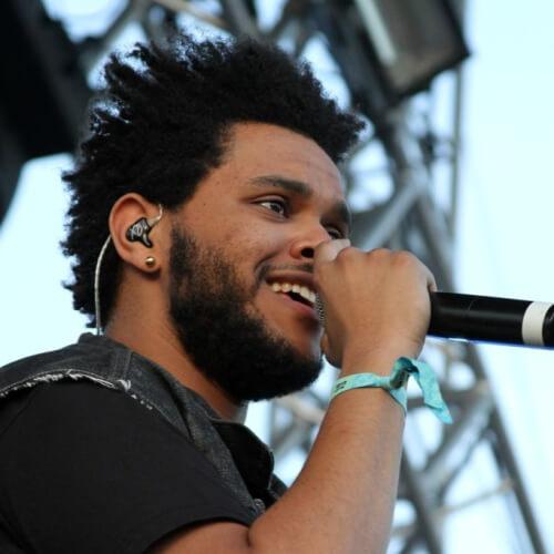 El Weeknd Pelo Corto, Voluminoso Rastas