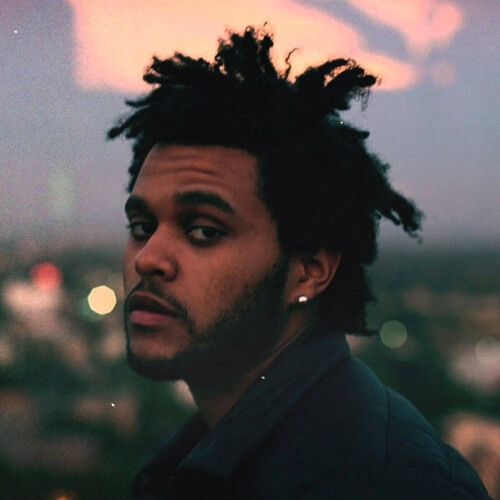 The-Weeknd-Hair-with-Choppy-Dreads