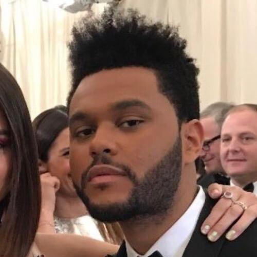 El Weeknd Cabello con el Encrespamiento Flattop