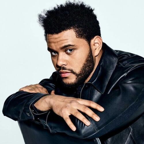 The-Weeknd-Hair-with-Untamed-Afro
