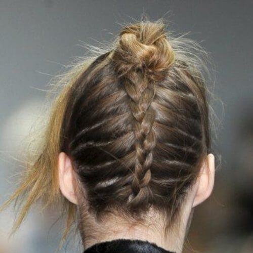 back trenza fresco peinados para niñas
