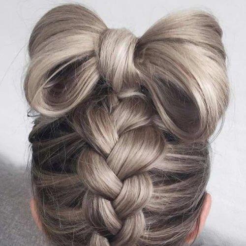el cabello arco fresco peinados para niñas