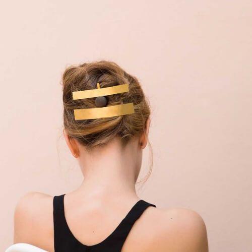 joyas de oro fresco peinados para niñas