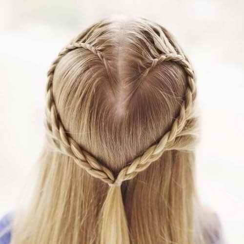 el día de san valentín cortes de pelo rubio