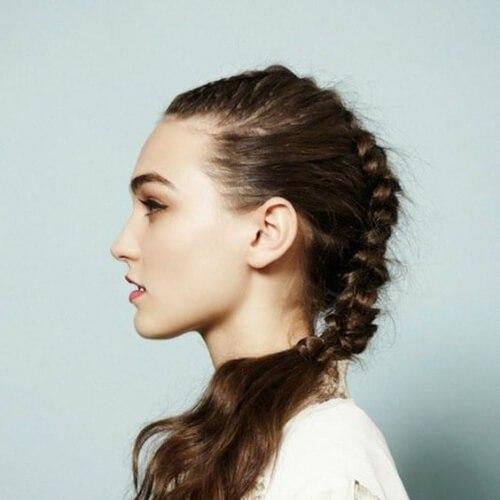 trenza fresco peinados para niñas