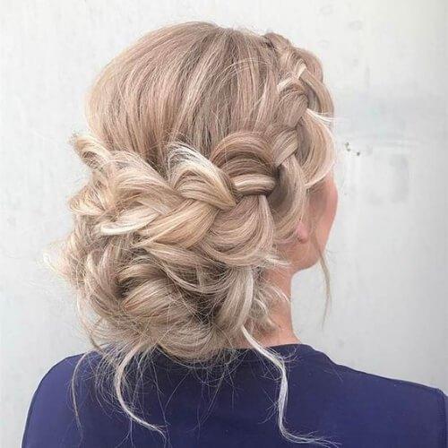 braid-chignon-blonde-hairstyles