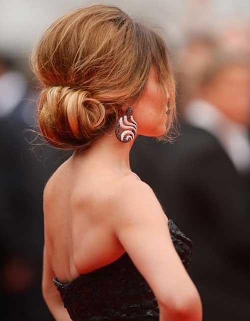 French Bun Hair-6