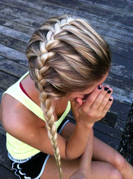 15 hermosos peinados trenzados_5