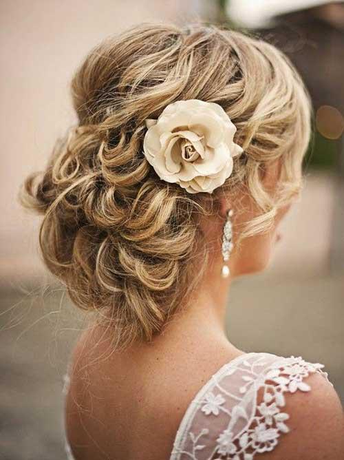 Imágenes de peinados de boda 2018