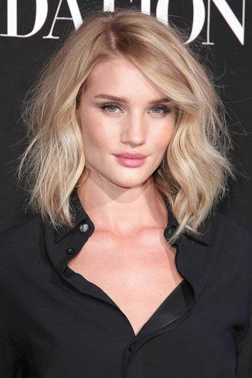 Mejores peinados de celebridades cortas 2018