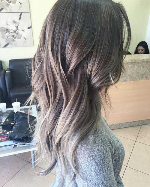 Los últimos colores de cabello